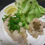 よりみちや - 春のおすすめメニュー;鶏ハムとテリーヌの前菜
