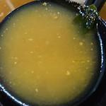 らーめんのはしもと - 2017.12.10  味噌ラーメンスープ☆