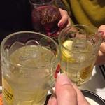 酒場~ルDEN - かんぱーい
