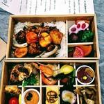 タノジ - 料理写真:豚肩ロースと安納芋の黒酢豚重