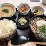 長寿庵 - 料理写真:とろろ定食 1,180円→昼割990円