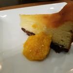 オステリア オリーヴァ ネーラ トウキョウ - リコッタチーズのケーキ
