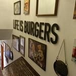 J.S. BURGERS CAFE - 階段
