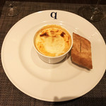 77837075 - 渡蟹と海老のビスク&ポワーレのフランスパン♪