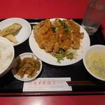 蓬莱春飯店 - 日替り油淋鶏¥750-