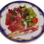 はじめ - イタリア産生ハムサラダ