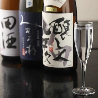 【希少な日本酒・地酒】30種類以上ご用意。なんと390円~!