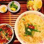 ベトナム料理コムゴン 京都 - フォーのセット