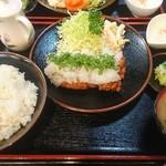 鈴亭 - 鶏ポン定食
