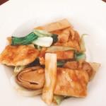 煌・中国料理 - 豚肉のカキソース炒め(^^)