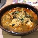 安楽亭 - ユッケジャンスープ