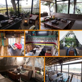 テラス・室内・ソファ・個室、色んなタイプのお席が選べます!