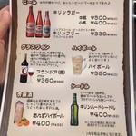 からめ亭 - メニュー11 2017/12/09
