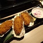 温炊き さんずい - 広島産大粒カキフライ(896円)