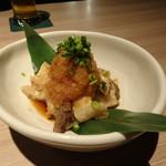 温炊き さんずい - 牛スジポン酢(648円)