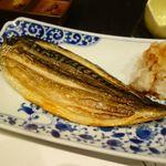 干のもとや - サバ干物の焼き魚