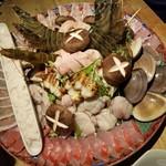 77849203 - 関西風うどんすき鍋