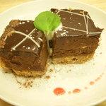 ライフカフェ - チョコレートアイスケーキ♪