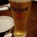 おむすびスタンド ANDON - 生ビール