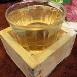 77854213 - 「たる酒(菊正宗)」370円也。