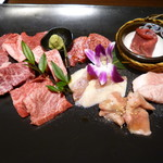 薩摩 牛の蔵 - かごんま盛り 2名盛り