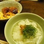 木山 - 梅と大葉の出汁茶漬