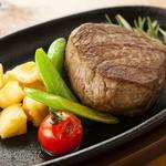 肉バル キャプテン・バーベキュー - フィレステーーキ