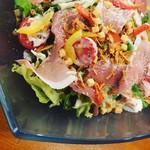 肉バル キャプテン・バーベキュー - 生ハムシーザーサラダ