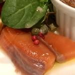 ナトワ - 前菜:スモークサーモン