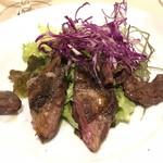 ナトワ - 青首鴨のもも肉のサラダ仕立て