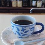 珠 - 朝のコーヒーのサービス