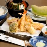 廣長 - 旬の味覚をランチでいただく『天ぷら定食』