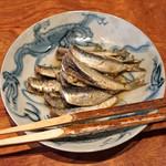 丹 - 鰯の山椒煮