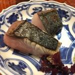 う越貞 - 鰆と加太の鯖