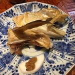 う越貞 - 白甘鯛の兜焼