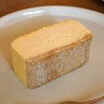 喫茶葦島 - 贅沢チーズケーキ プレーン
