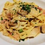 イタリアンレストラン&バル GOHAN - ポルチーニといろいろキノコのクリームパスタ<生パスタ>
