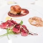 リストランテ ラ チャウ - 北海道産の牛肉を使ったメイン