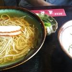 道林 - かけ蕎麦定食