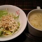 青龍門 - サラダ&スープ