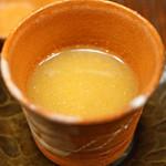 竹屋町 三多 - 料理写真:温かいお出汁