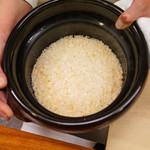 竹屋町 三多 - 葱とお揚げの炊き込みご飯