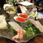 海鮮酒場 海ごはん しまか - 料理写真:お造り盛り合わせ