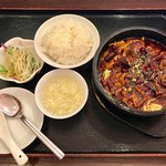 中華料理 パンダ - 料理写真:激辛鉄鍋、1200円です。