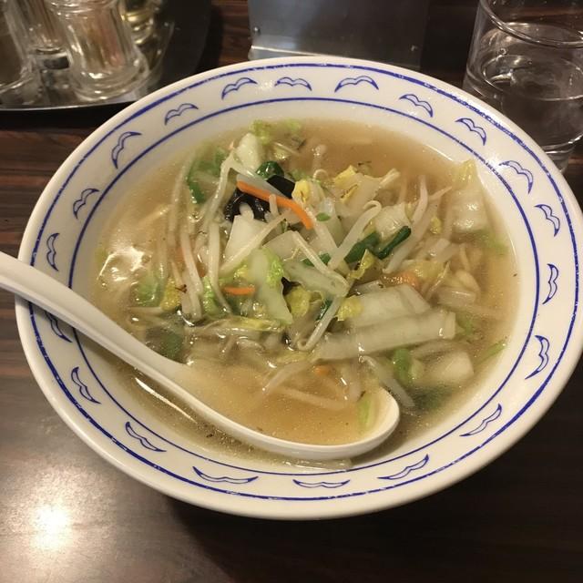 横濱 一品香 福富町店 - 絶品たんめん定食。 税込890円。 美味し。