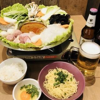 センディ―特製タイスキ(浮き輪)鍋‼
