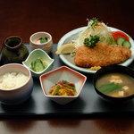 セーブル - 豚ロースカツ定食