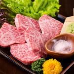 特上和牛ロース (タレ/塩わさび)