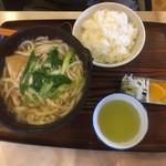 水舟 - 鍋焼きうどんセット