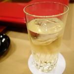 祇園にしむら - 梅酒のソーダ割り